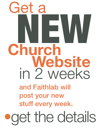 Get a New Church Website