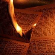 Spotting God…In Burning Books