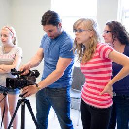 Teenagers as Media Creators