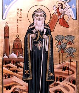 Pachomius, Monastic, Hermit, Founder of Communities