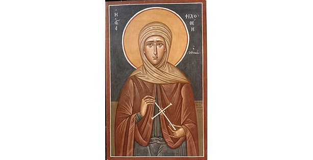 Philothei, Martyr, Spiritual Mother, Domestic Abuse Survivor