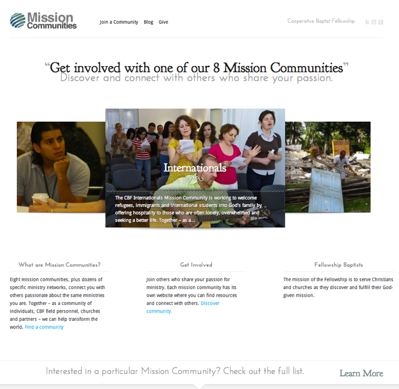 Mission Communities